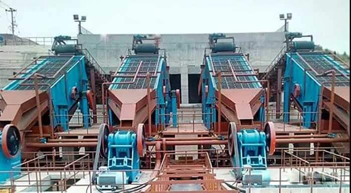 6 Types Sandstone Aggregate Screening Equipments