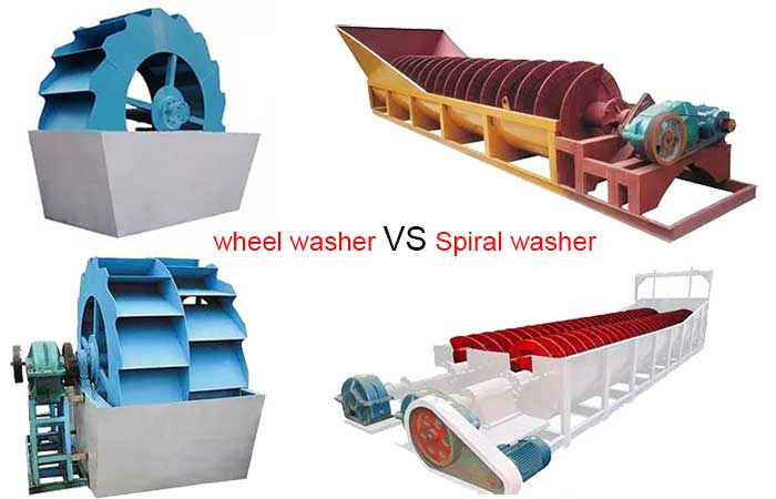 wheel washer vs spiral washer