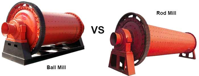 ball mill vs rod mill