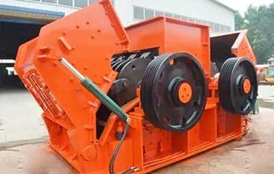double shaft hammer crusher