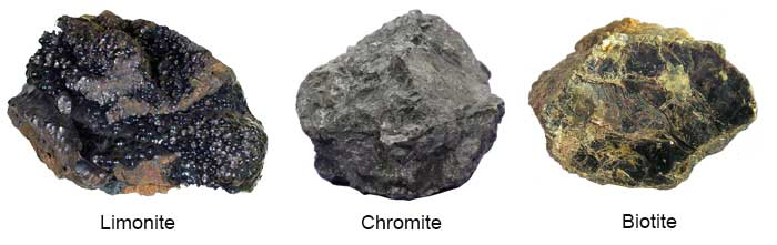 weak magnetic minerals