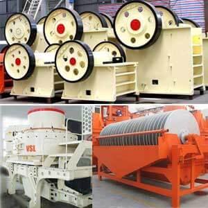 silica sand equipment