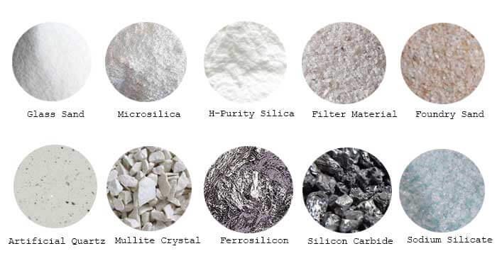 quartz sand uses