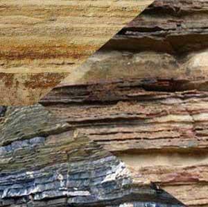 sedimentary rock layer