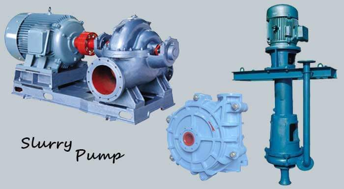 slurry pump types