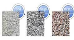 gravel particle size