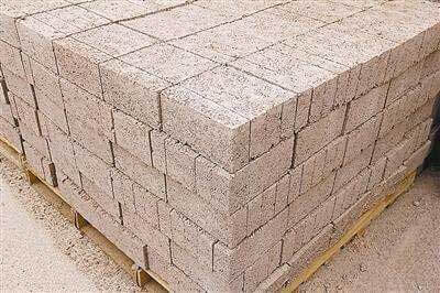 recycled aggregate brick