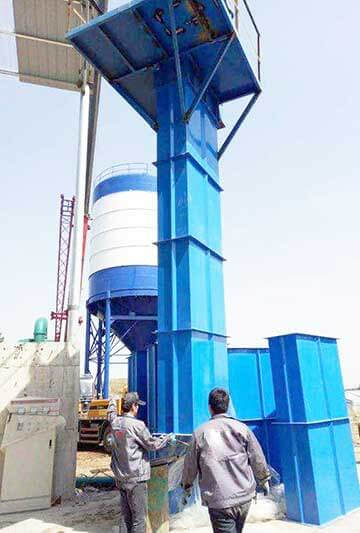 bucket elevator installation