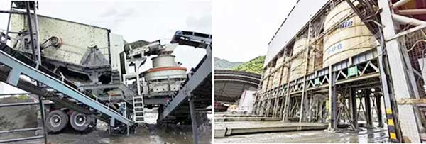 tailings mobile plant