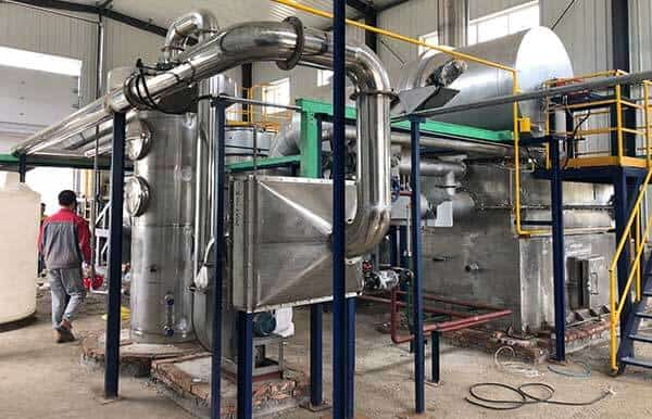 sludge thermal drying system