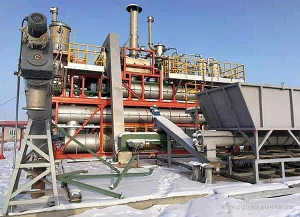 sludge incineration machine
